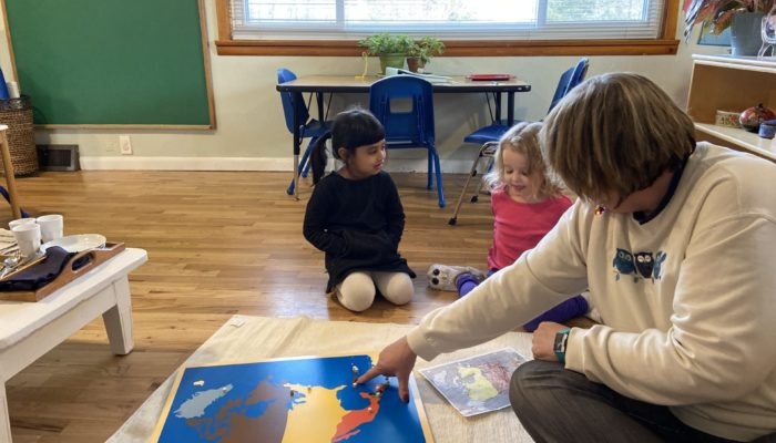 Montessori Geography at Eastlake